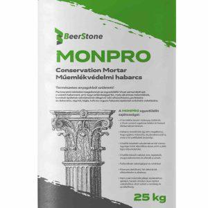 Beerstone MONPRO Műemlékvédelmi Habarcs 25 kg